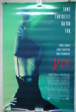 Jade, Movie Poster, Linda Fiorentino, David Caruso, '95